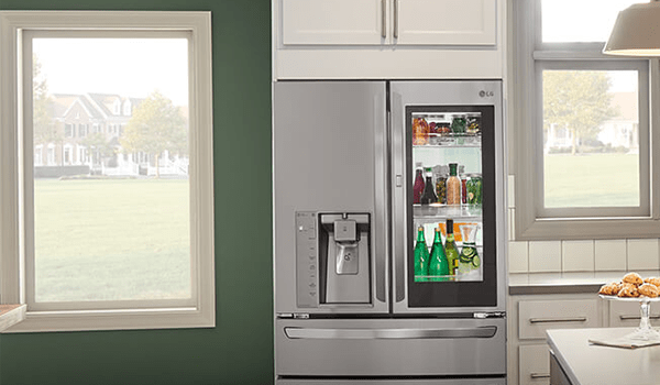 where are condenser coils on lg french door refrigerator