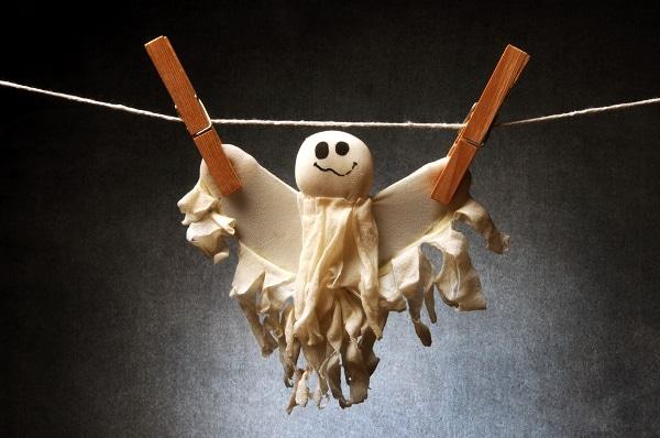 how to wash halloween costume